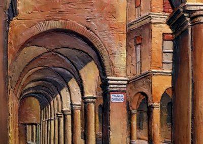 Portici in Via San Vitale