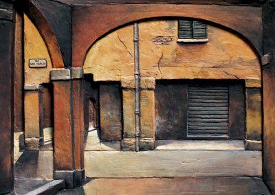 Portici in Via San Carlo