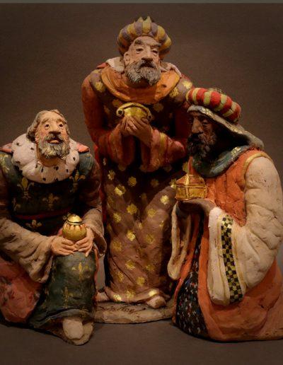 Re magi in adorazione