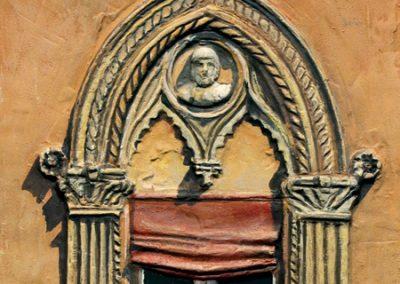 Finestra di Palazzo Isolani