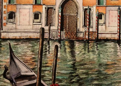 Venezia, Canal Grande, Palazzo Soranzo-Pisani
