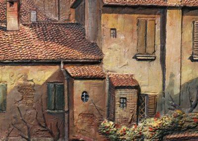 Cortile in Vicolo Bolognetti