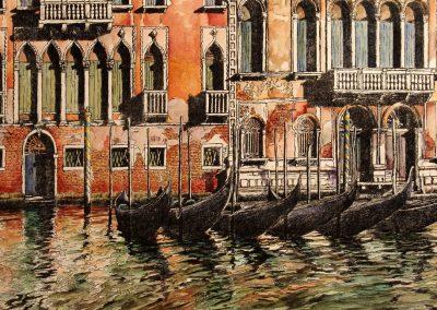 Venezia, Canal Grande, Palazzo Cavalli Franchetti