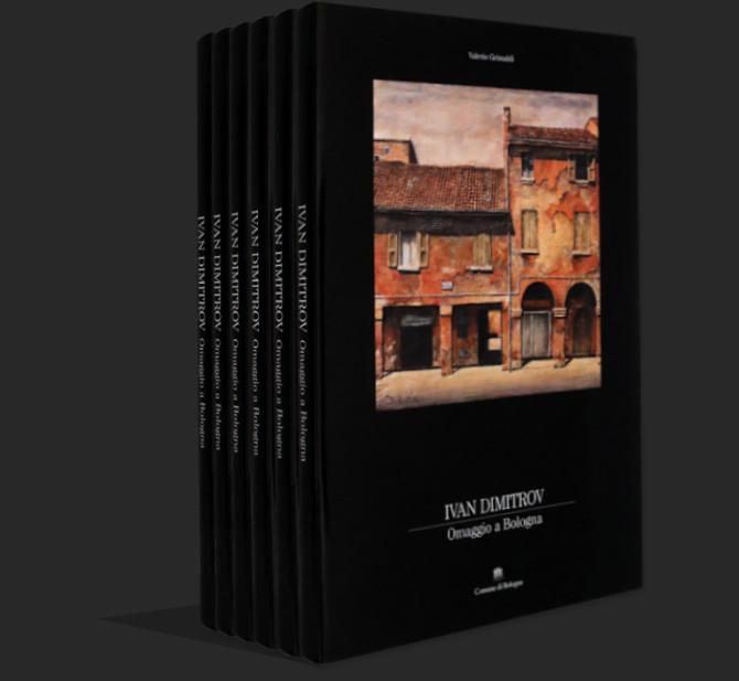 Immagine prospettica di libri e volumi