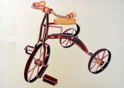 Giocattoli e ricordi: il vecchio triciclo