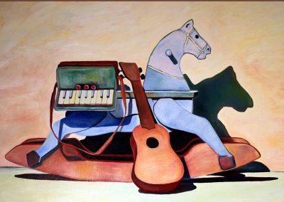 Giocattoli e ricordi: il cavallo a dondolo