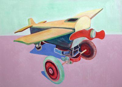 Giocattoli e ricordi: l'aeroplanino di legno